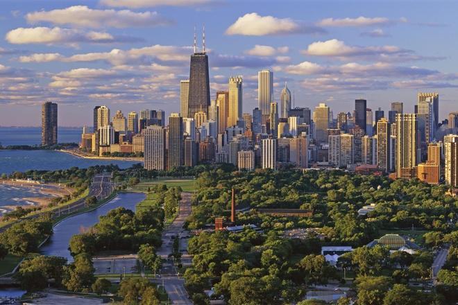 10 thanh pho duoc yeu thich nhat cua nuoc My hinh anh 3 Chicago: Chicago là thành phố đông dân thứ 3 của Mỹ, với khoảng 9,5 triệu người đang sinh sống. Nổi tiếng là thành phố với những tòa nhà chọc trời, dịch vụ giải trí và du lịch của Chicago cũng rất phát triển, thành phố là nơi có nhiều công viên nổi tiếng thế giới như Grant, Millennium, Lincoln, Burnham, Jack… Ảnh: Chicagoraffaello.com.