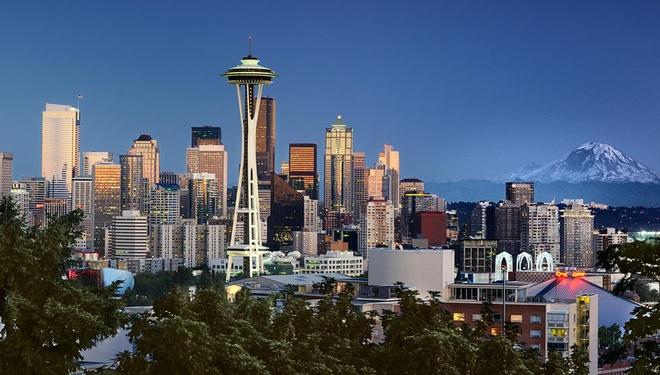 10 thanh pho duoc yeu thich nhat cua nuoc My hinh anh 9 Seattle: Seattle là một thành phố cảng biển tọa lạc ở vùng Tây Bắc Thái Bình Dương của Mỹ, phát triển mạnh mẽ về trung tâm công nghệ thông tin, hàng không, kiến trúc và các ngành công nghiệp du lịch giải trí. Ảnh: Emiratesairlines.vn.