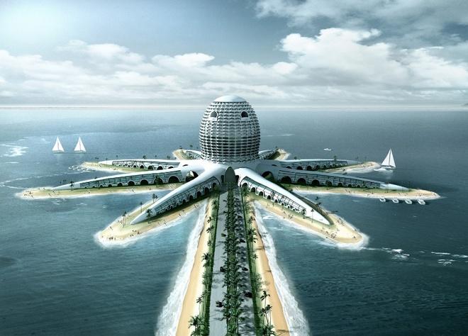 Nhung buc anh 'Chi co the la Dubai' hinh anh 19 Không dừng ở đó, Dubai vẫn đang lên kế hoạch xây dựng các công trình kiến trúc tầm cỡ thế giới.
