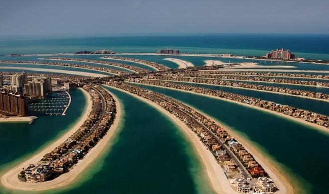 Nhung buc anh 'Chi co the la Dubai' hinh anh 3 Tất cả là nhờ vào những hòn đảo nhân tạo tuyệt đẹp đã được Dubai cho xây dựng.