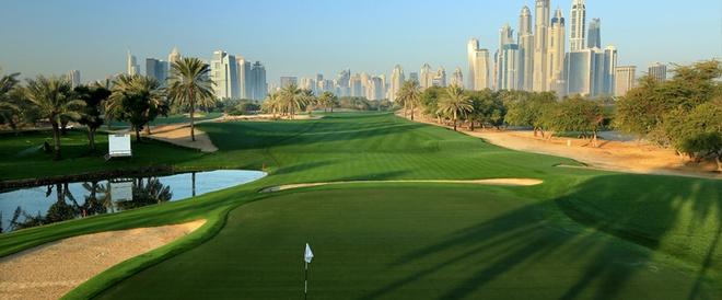 Nhung buc anh 'Chi co the la Dubai' hinh anh 8 Những sân gôn có thể làm hài lòng cả những tay chơi khó tính nhất.