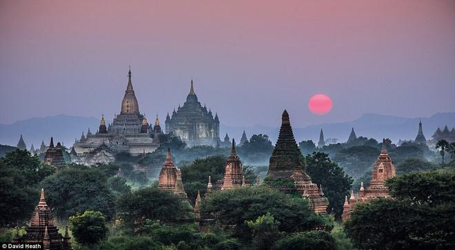 Ve dep day me hoac cua Myanmar hinh anh