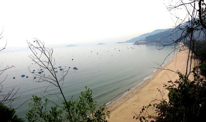 Bua tiec bai bien tan huong binh yen Quy Nhon hinh anh 3 Bãi biển ở Quy Nhơn