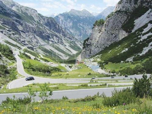 Phong cảnh trong thung lũng Valtellina