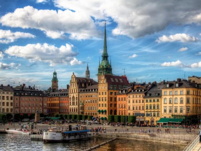 8. Thụy Điển: Chi tiêu trung bình của mỗi khách du lịch quốc tế là 987 $.