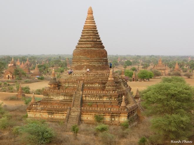 Phuot thu Viet chia se nhung den khong the bo qua o Bagan hinh anh