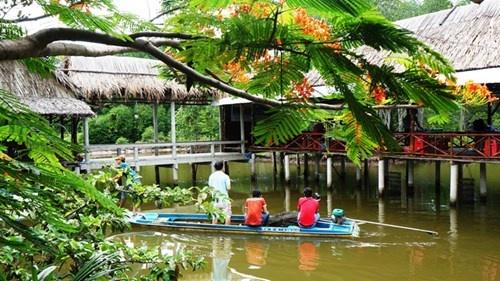 Ve Ca Mau ngu nha khong cua hinh anh 2 Điểm du lịch sinh thái cộng đồng Nguyễn Văn Nhuần.