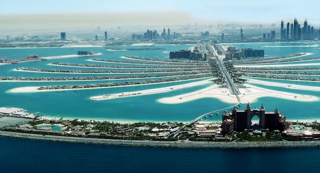 Tour tron goi kham pha ve dep Abu Dhabi - Dubai hinh anh 10 Vẻ đẹp có một không hai của đảo nhân tạo lớn nhất thế giới Palm Jumeirad. Ảnh: Zabadanirealty.com.