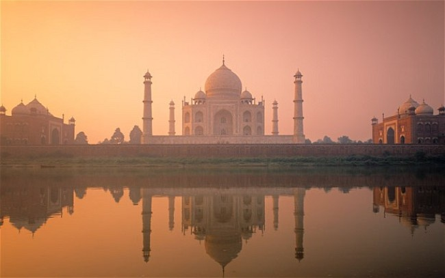 Mat 9 nam de don sach Taj Mahal hinh anh
