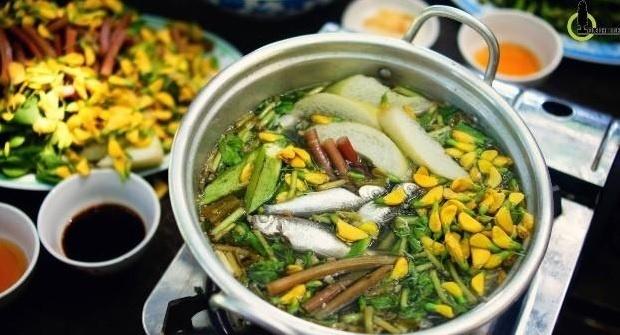 Ve dep cua An Giang trong mat phuot thu hinh anh 5 Món ăn đặc trưng vào mùa nước nổi. Ảnh : Nam Chấy.