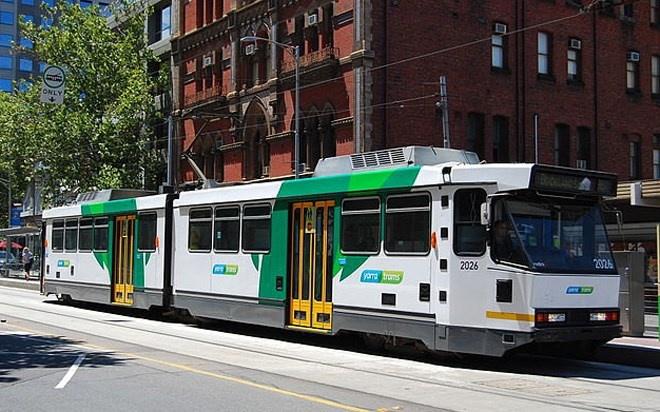 Với 1781 nhà ga và đường ray dài 250 km, hệ thống xe điện Melbourne của nước Úc hoạt động từ năm 1884.
