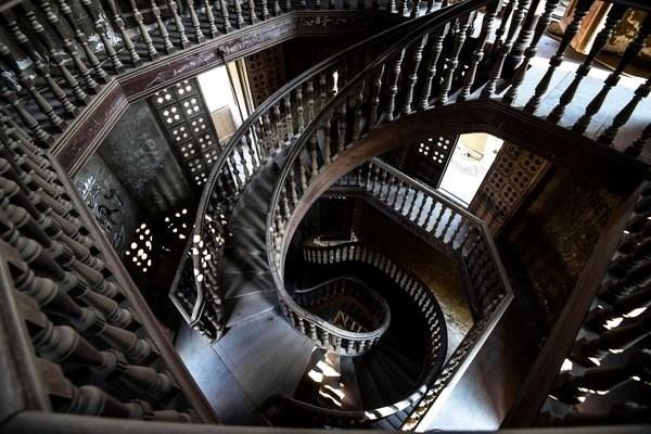 Chiem nguong nhung cau thang dep nhat the gioi hinh anh 9 Cầu thang gỗ ở Cairo, Ai Cập.