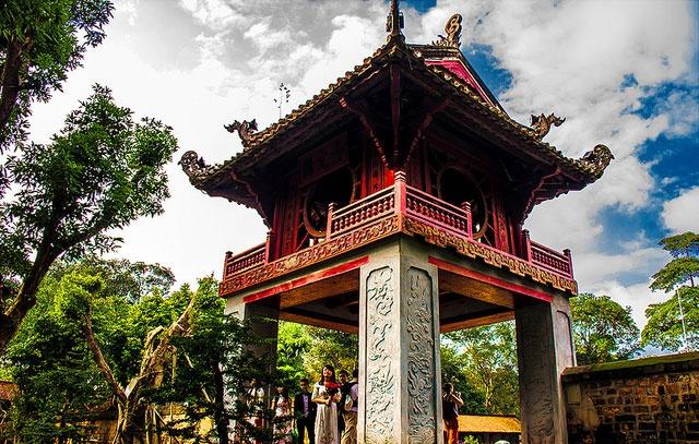 Nhung dieu nguoi nuoc ngoai yeu nhat o Viet Nam hinh anh 3 Văn Miếu - Quốc Tử Giám ở Hà Nội ghi dấu về đạo học của người Việt.