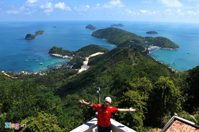 3 ngay an - ngu - nghi o dao Nam Du hinh anh 1 Quần đảo Nam Du tuyệt đẹp khi nhìn từ trên cao. Ảnh: Hải An.