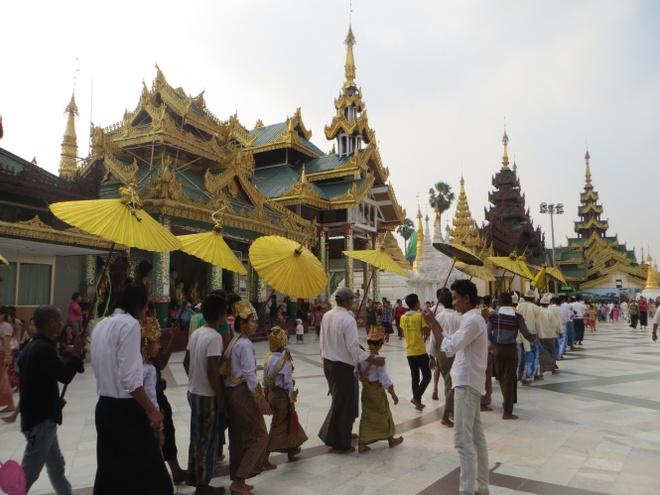 Len lich cho 6 ngay tham quan Myanmar mua xuan hinh anh 1