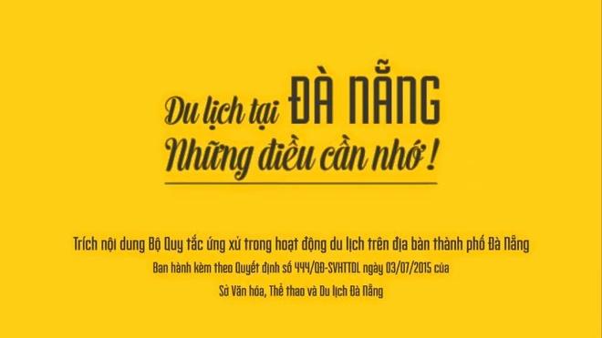 Quang ba du lich van minh o Da Nang bang anh hinh anh 1