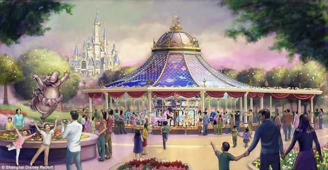 Khung canh choang ngop tai Disneyland Thuong Hai hinh anh 13