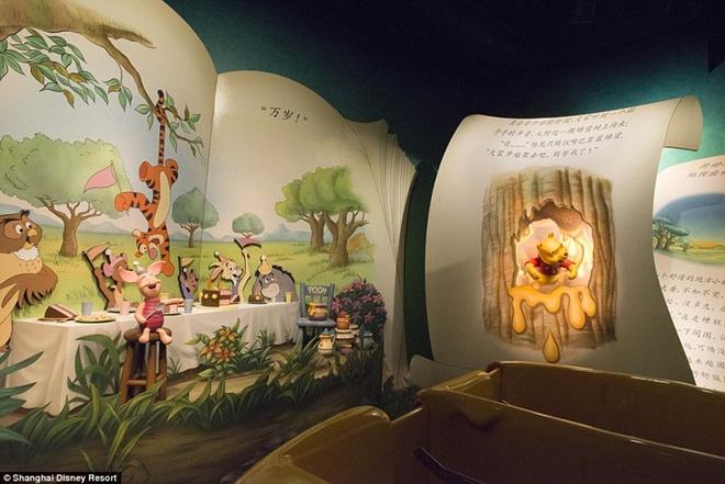 Khung canh choang ngop tai Disneyland Thuong Hai hinh anh 14