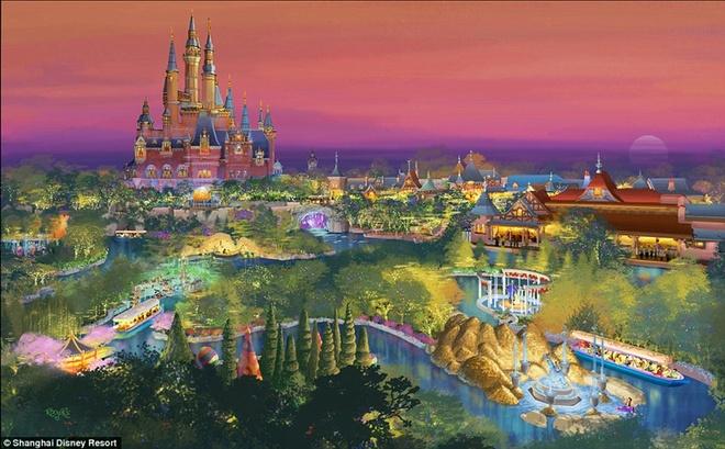 Khung canh choang ngop tai Disneyland Thuong Hai hinh anh 17