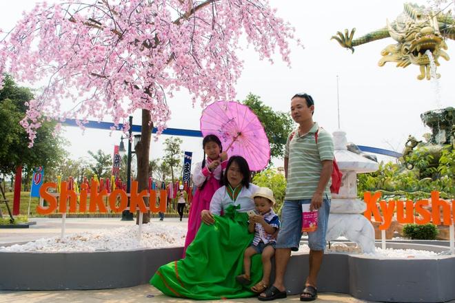 Gioi tre Da Nang dien kimono du hoi hoa anh dao hinh anh 5