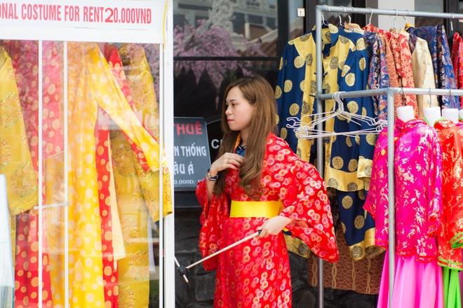 Gioi tre Da Nang dien kimono du hoi hoa anh dao hinh anh 8