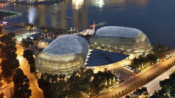 Nha hat Esplanade - net dac trung cua Singapore hien dai hinh anh 1
