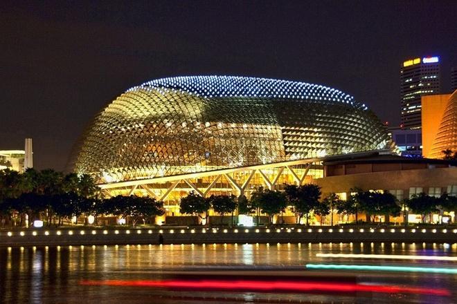Nha hat Esplanade - net dac trung cua Singapore hien dai hinh anh 2