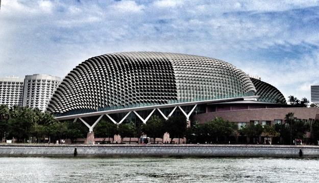 Nha hat Esplanade - net dac trung cua Singapore hien dai hinh anh 5