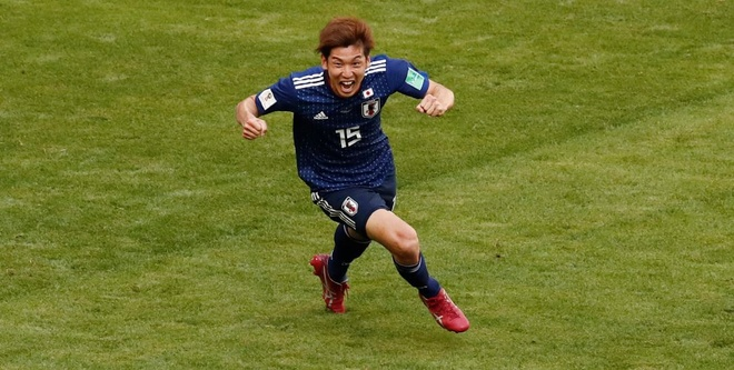 Colombia 1-2 Nhat Ban: 'Samurai xanh' tao dia chan hinh anh