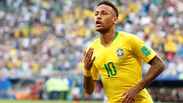 Neymar ghi ban va kien tao, Brazil vao tu ket World Cup hinh anh
