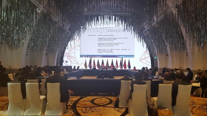 Khai mac Hoi nghi SOM ASEAN anh 1