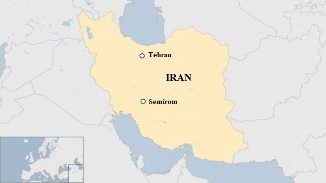 Tai nan may bay Iran anh 1