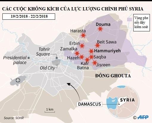 400 nguoi chet vi khong kich o Syria, Nga - My van tranh cai hinh anh 2