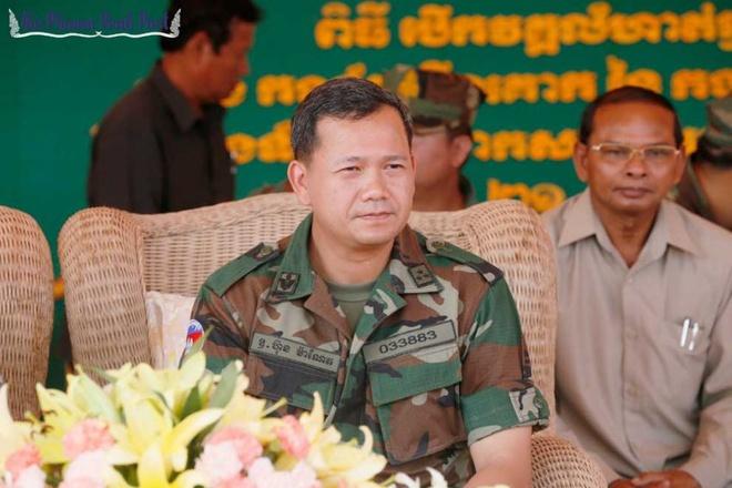 Con trai Hun Sen nham chuc tham muu truong quan doi Campuchia hinh anh 1