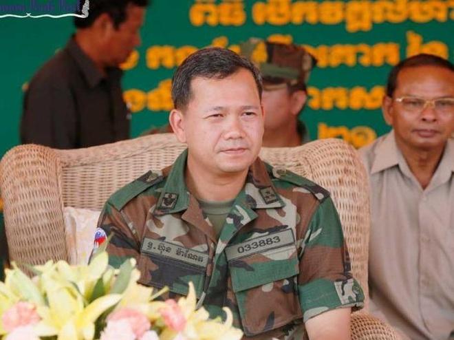 Con trai Hun Sen nham chuc tham muu truong quan doi Campuchia hinh anh