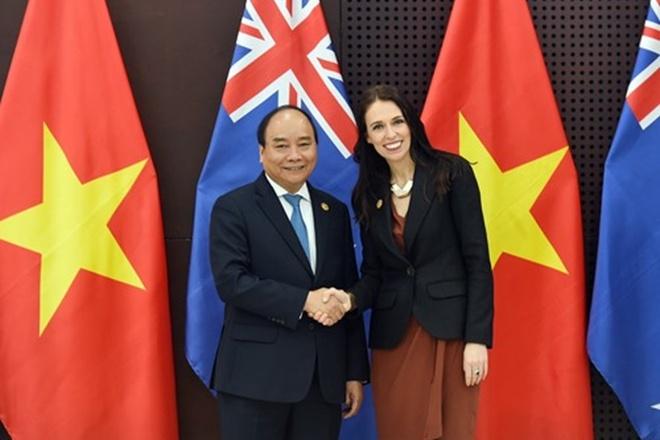 Thu tuong Nguyen Xuan Phuc tham New Zealand va Australia hinh anh 1