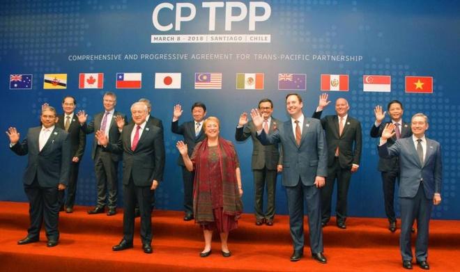 TPP-11: Hiep dinh lich su thay doi dien mao thuong mai toan cau hinh anh