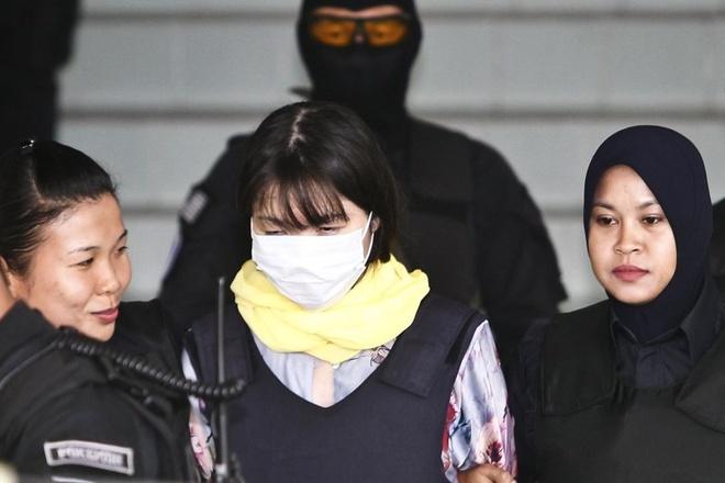 Doan Thi Huong bi loi keo 2 thang truoc nghi an Kim Jong Nam hinh anh 1