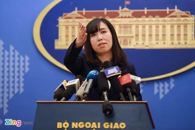 Bo Ngoai giao len tieng ve kha nang Trump gap Kim Jong Un tai VN hinh anh 1