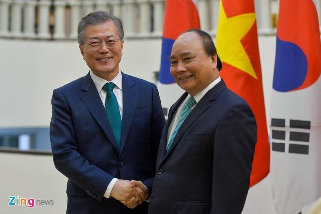 Tong thong Han Quoc an tuong voi thanh tuu cua Viet Nam hinh anh 1