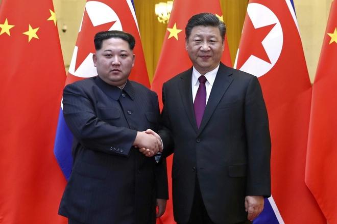 Kim Jong Un tham Bac Kinh anh 1