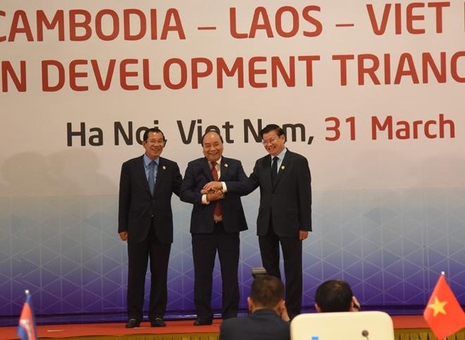 Khai mac hoi nghi Tam giac phat trien Campuchia - Lao - Viet Nam hinh anh