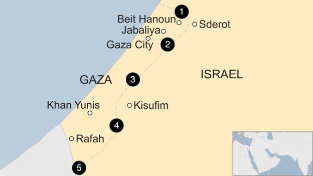 Israel canh bao se tan cong dai Gaza hinh anh 2
