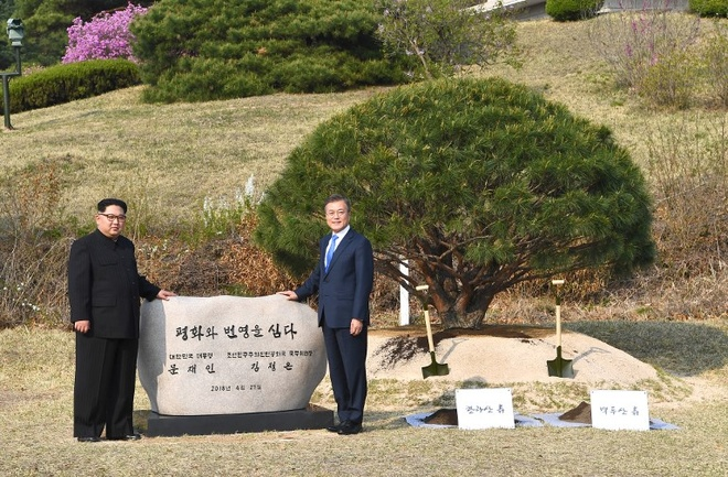 Kim Jong Un: Huong toi thong nhat voi toc do ngua van ly hinh anh