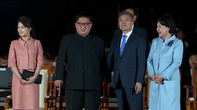 Kim Jong Un chia tay Han Quoc, ket thuc chuyen tham lich su hinh anh 1