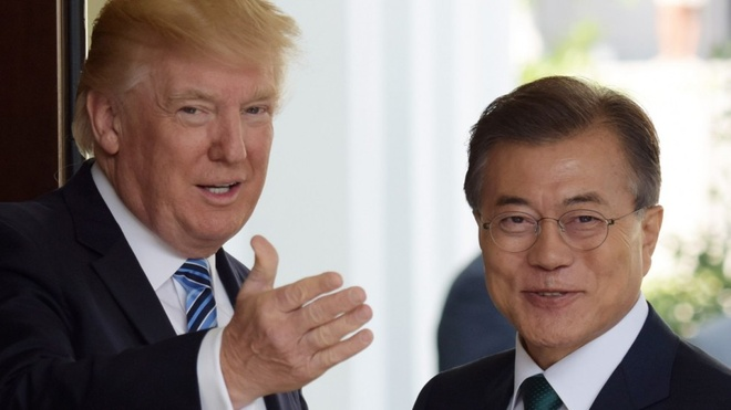 Tong thong Moon: Trump xung dang nhan Nobel Hoa binh hinh anh