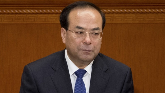 Nguyen uy vien Bo Chinh tri TQ linh an chung than vi nhan 27 trieu USD hinh anh