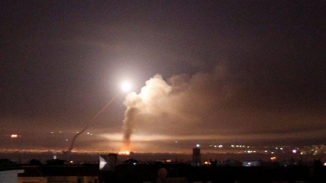 28 tiem kich Israel phong 60 ten lua vao cac muc tieu o Syria hinh anh 1