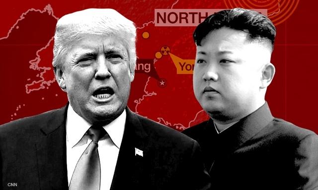 Xe bo thoa thuan Iran, Trump gui thong diep cung ran toi Trieu Tien hinh anh