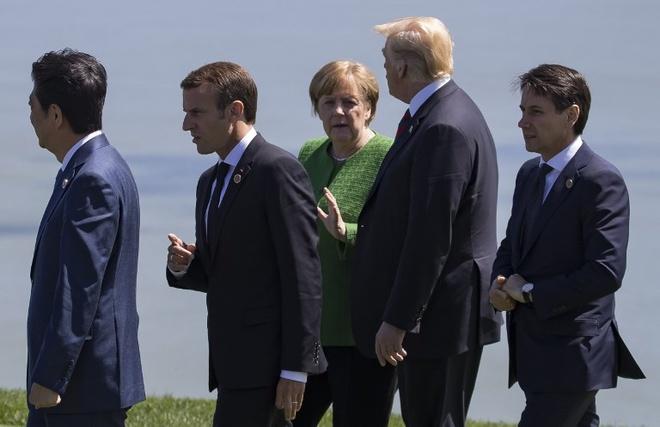 Tong thong Trump khien My bi dong minh co lap tai G7 hinh anh 1